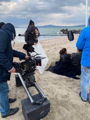 Морската градина на Бургас и Централният плаж влезнаха в кадри на холивудска продукция