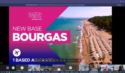 Wizz Air със сезонна база в Бургас, разкрива 7 нови линии