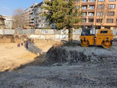 """Започна строежът на новата детска градина в к-с """"Братя Миладинови"""""""