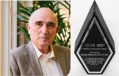 Бургаският професор Ованес Мекенян бе отличен със световната научна награда QSAR 2021