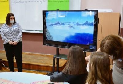 Ученици от Славейковото училище отправиха призив за опазване на природата
