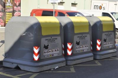 Поставят нови и с по-голям обем контейнери за отпадъци в ЦГЧ