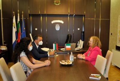 Н.Пр. Мартина Фийни: Ирландският бизнес ще бъде заинтригуван от Бургас