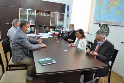 Н.ПР. Джузепина Дзара: Бургас е важен за италианския бизнес