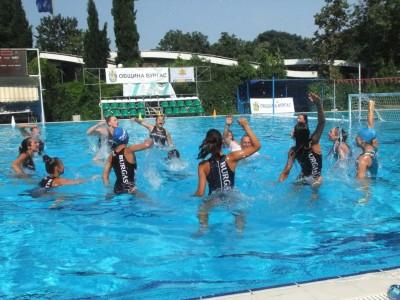 Бургас за първи път има златни момичета във водната топка!