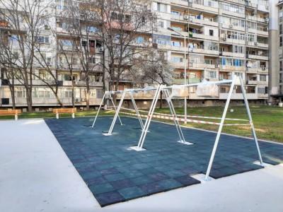 "Между бл.39 и 40 в ""Изгрев"" направиха нова детска площадка"