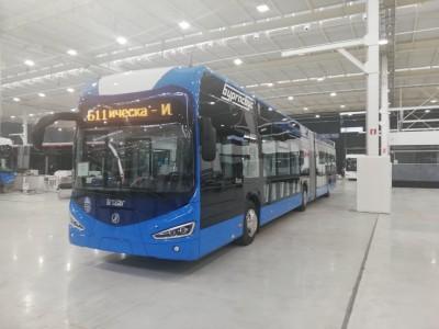 Вижте новите електрически автобуси на Бургас