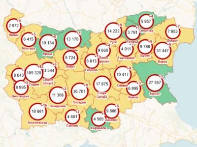 Бургас вече е в зелената зона на картата на разпространение на КОВИД-19