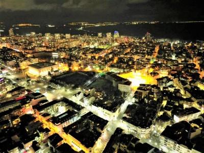 Огромна част от Бургас е по-добре осветена нощем, а градската сметка за ток намалява
