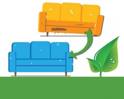 Вижте как да се освободите от старите си мебели, а те да бъдат реновирани
