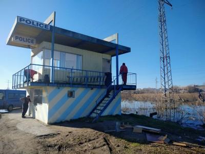 """Напредва обособяването на индустриалната зона край """"Меден рудник"""", демонтират КПП на пътя за Созопол"""
